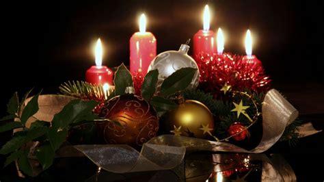 decoracion de navidad velas centros con velas para navidad hogarmania