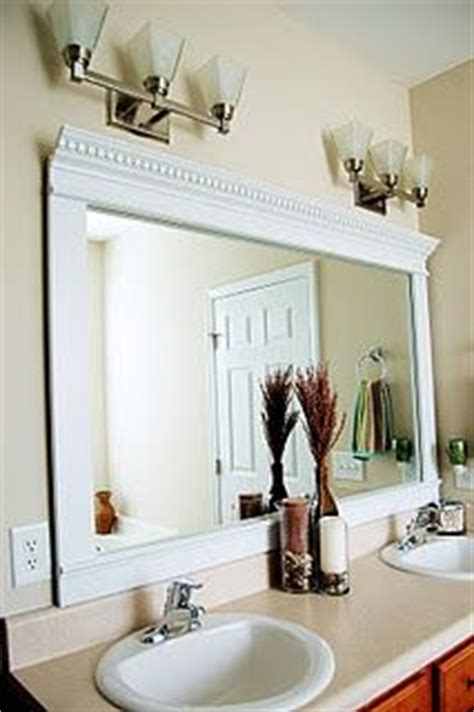 framing bathroom mirrors with crown molding best 25 crown molding mirror ideas only on pinterest