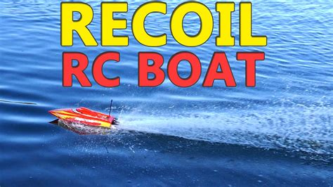 super fast brushless rc boats super fast rc boat recoil brushless mini boat youtube