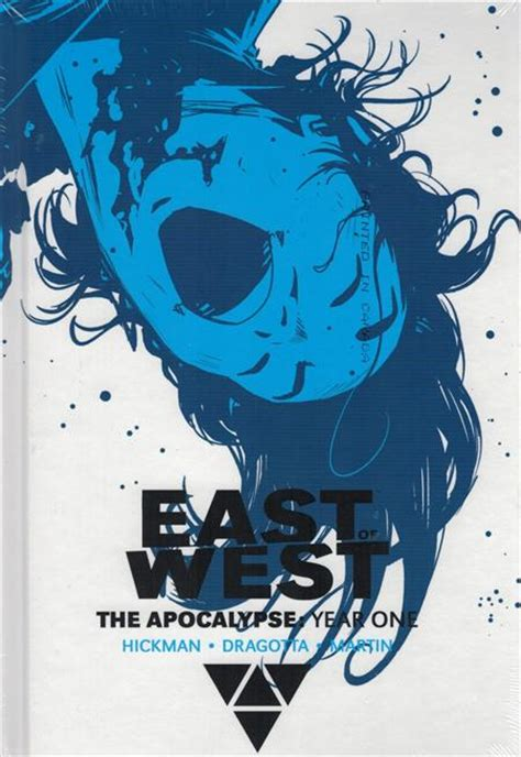 east of west the apocalypse year two east of west the apocalypse year one hc dcbs exc var
