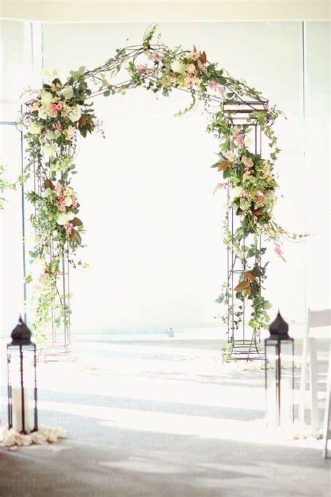 Garden Arch Plans by Como Hacer Un Arco De Flores Para Boda Paso A Paso 7