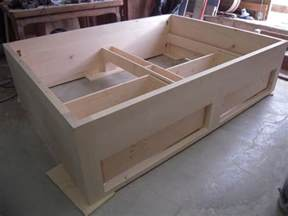 fabrication sur mesure lit 2 tiroirs en 233 rable schillaci