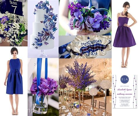 blue and purple wedding ideas blue and purple wedding groom sold separately