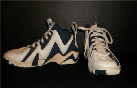 shawn kemp basketball shoes reebok shawn kemp basketball shoes blue white nos size us