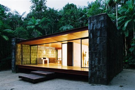 House Plans For Small Cottages by Gallery Casa Rio Bonito A Modern Cabin In The Brazilian