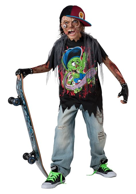 Target Party Decorations Zombie Sk8r Child Costume