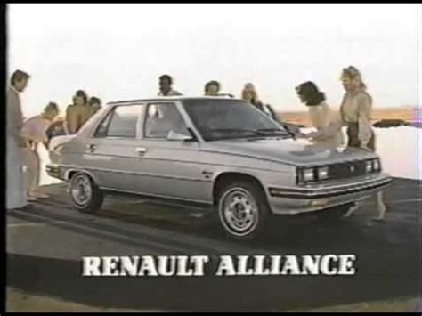 1984 renault alliance 1984 renault alliance commercial