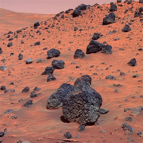 Are From Mars mars surface pics about space