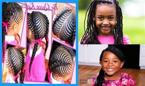 nigeria baby hairstyle for birthday african cute little girls hairstyle for natural hair