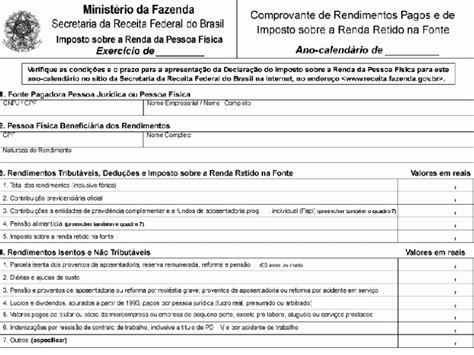 comprovante do inss 2016 do aposentado cpex comprovante de rendimentos prazo para empresa