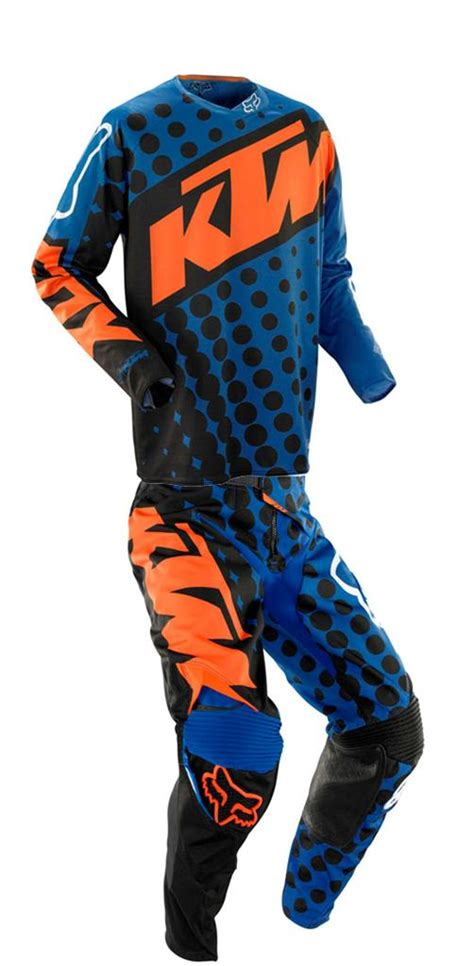 Fox Racing Ktm Fox Racing 360 Ktm Jersey Combo Kit Blue