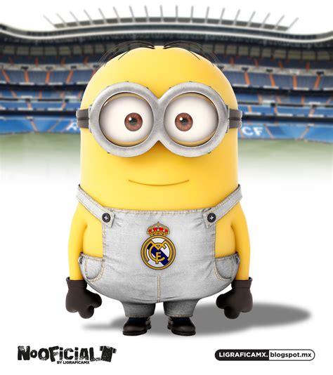 imagenes de minions real madrid ligrafica mx soccer minions internacionales 12072013ctg
