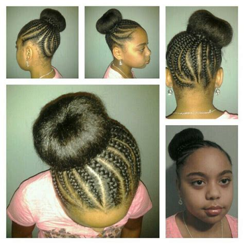 natural styles for tweens natural style natural tweens rock braided bun no filler