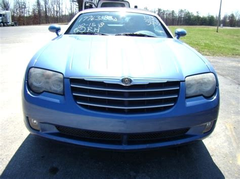 used chrysler crossfire parts rv parts 2005 chrysler crossfire roadster salvage used