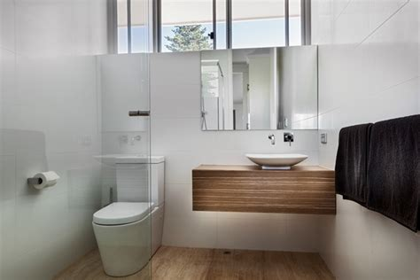 awkwardly shaped bathrooms designs modern floating vanity cabinets airy and elegant