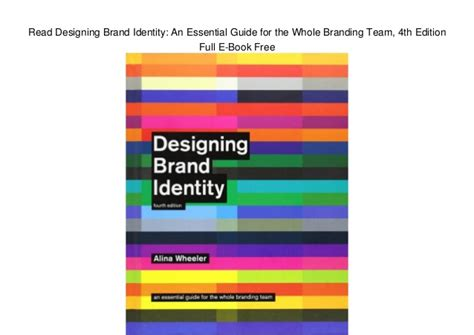 designing brand identity an 1118099206 read designing brand identity an essential guide for the whole brand