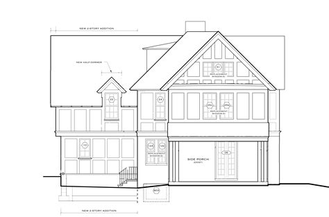 elevation floor plan elevations