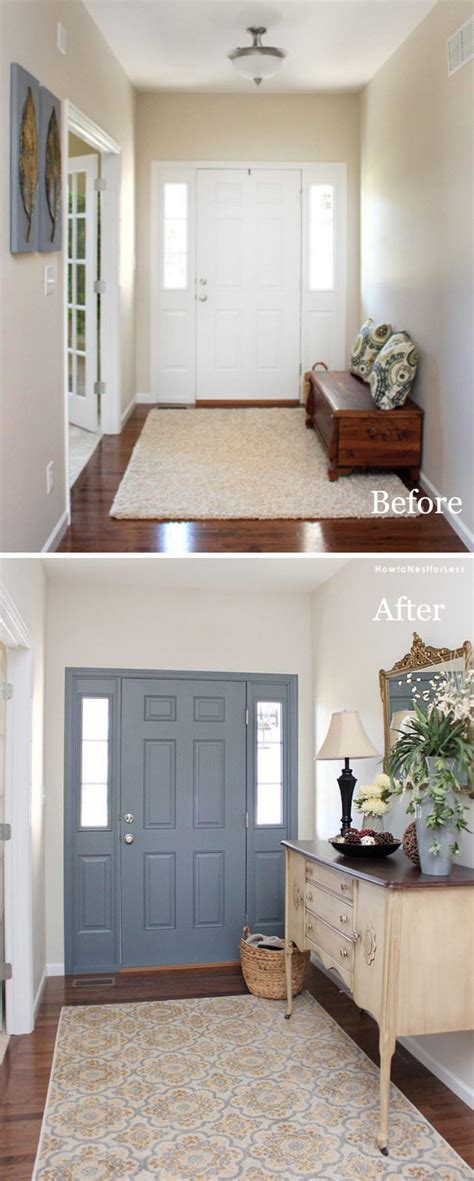 7 Amazing Inside Out Makeovers by 30 Amazing Entryway Makeover Ideas And Tutorials Hative