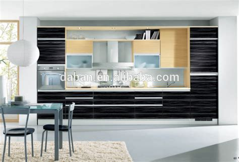 modern ready made kitchen cabinet modern pantry cupboards china black color modern lacquer kitchen cabinets