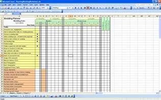 Free Printable Wedding Planner Templates Free Themes Store Planning Wedding Worksheet Free Excel