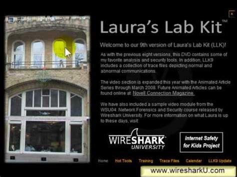 wireshark tutorial laura chappell wireshark secrets of the lab kit youtube