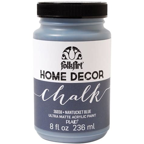 chalk paint malaysia folkart home decor chalk paint 240ml nantucket blue