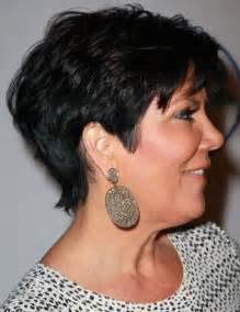 kris jenner haircut side view kris jenner haircut back view the back of kris jenner