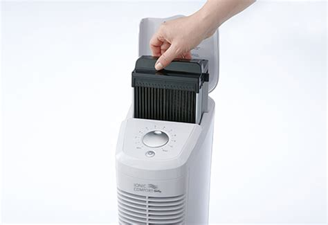 replacement filter assembly  ionic comfort quadra air