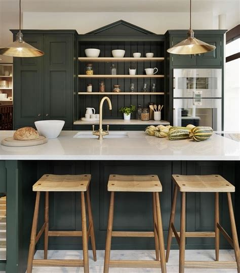 Green And White Kitchen Ideas by Kitchen Cabinets Bold Ideas For Rich Shades In The