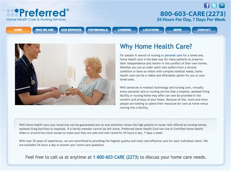 preferred home health care review 2017 consumeraffairs