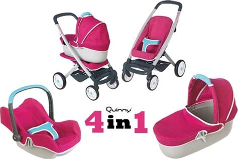 Maxi Set 4in1 by Bol Smoby Maxi Cosi Quinny Poppenwagen 4in1