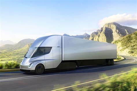 All Electric Tesla Tesla Semi Truck All Electric Class 8 Heavy Hauler What