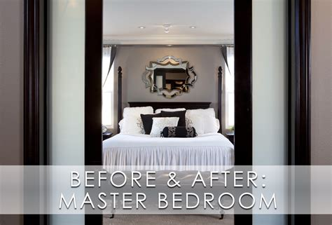stylish master bedrooms stylish transitional master bedroom before and after robeson design