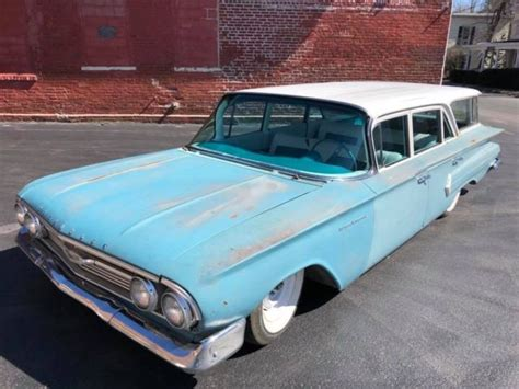 1960 ls for sale 1960 chevrolet brookwood station wagon ls swap air ride