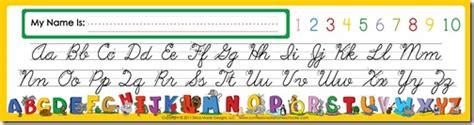printable alphabet strip alphabet desk mate confessions of a homeschooler