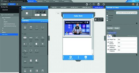 layout mit javascript intel app framework cross plattform entwicklung mit html5