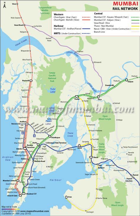 mumbai map satellite mumbai map and mumbai satellite image