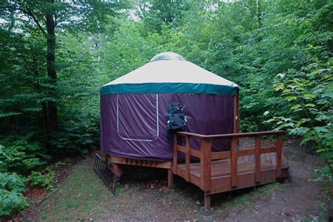New Hshire State Park Cabins by The Milan Hill Yurts Nh State Parks