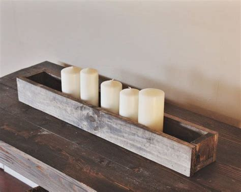 Tabletop Planter Boxes by 25 Best Ideas About Planter Box Centerpiece On Diy Wooden Box Rectangle Table