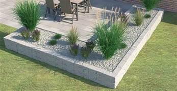 garten beeteinfassung beton beeteinfassung terrassenumrandung setzen obi gartenplaner