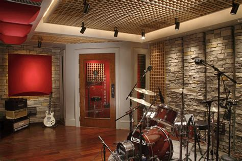 Home Studio Wall Design | custom designed studio the grip ii