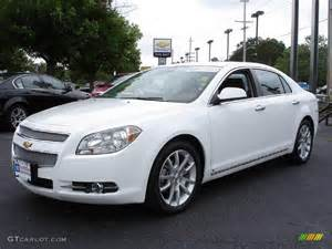2009 Chevrolet Malibu Ltz 2009 Summit White Chevrolet Malibu Ltz Sedan 11795502