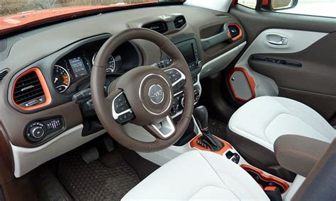 jeep renegade leather interior 2016 jeep renegade pros and cons at truedelta 2016 jeep