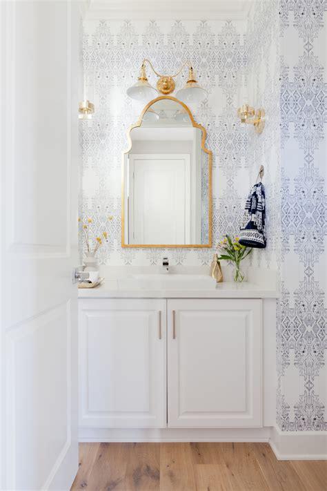 30 gorgeous wallpapered bathrooms beachside boho lark linen fresh neo traditional