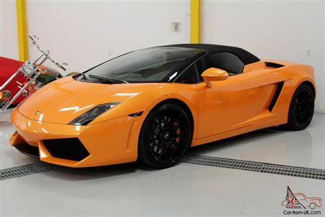 lamborghini gallardo lp560 4 spyder convertible 2 door
