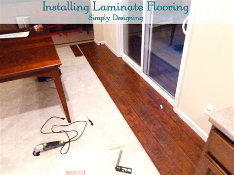 laminate flooring install laminate flooring first row