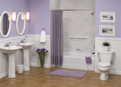 lavender bathroom walls lavender bathroom