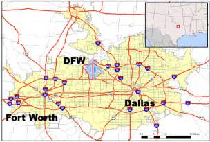 location of the dallas fort worth airport