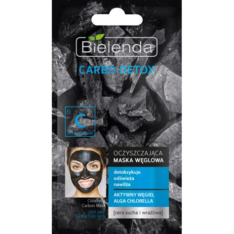 Best Detox Mask For Sensitive Skin bielenda carbo detox purifying charcoal mask for and