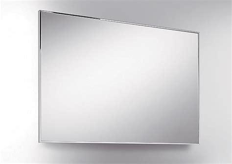 cornici acciaio specchio 90x60 con cornice in acciaio inox supermirror 6mm